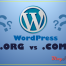 wordpress_org_vs_com
